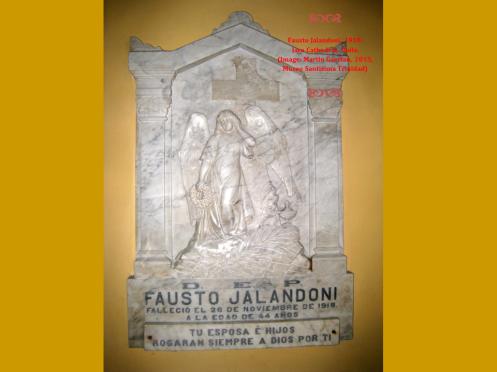 Fausto Jalandoni, 1918;                               Jaro Cathedral, Iloilo,                 (Image: Martin Gaerlan, 2015, Museo Santisima Trinidad)